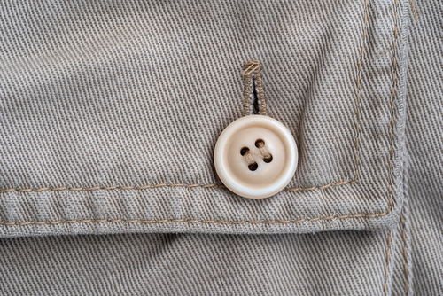 step by step guide how to sew button on pants